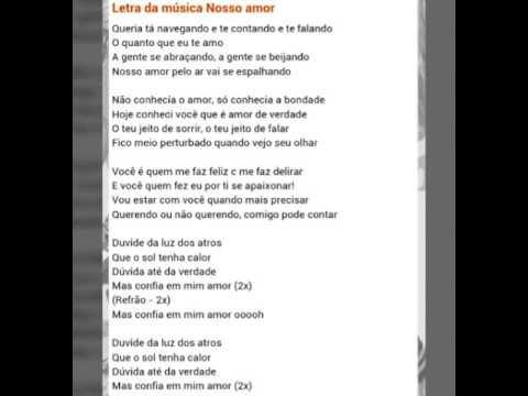 Resultado De Imagem Para Letra Da Musica Valeu Amigo Para Imprimir