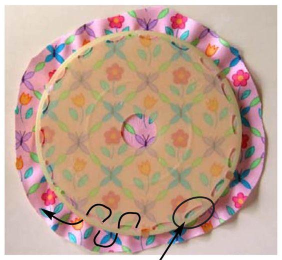Lazy girl blog how to make a perfect yo yo every time for Yo yo patterns crafts