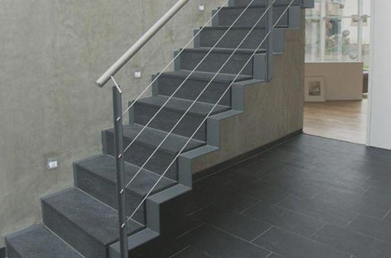 Escaleras chapa plegada servitja escaleras pinterest for Escalera metalica plegable precio