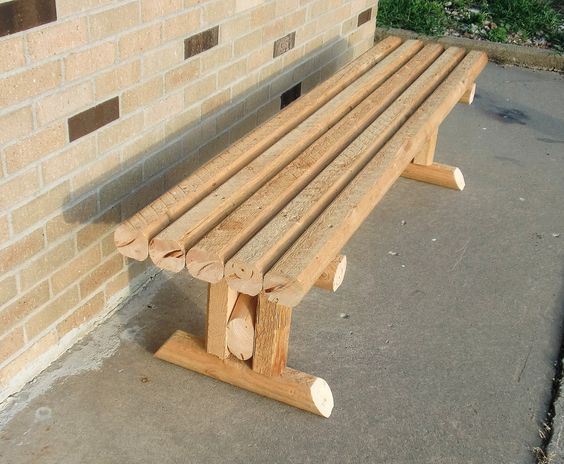 Landscape Timbers Mccoys : Living as a victorious christian woman the landscaping timbers bench