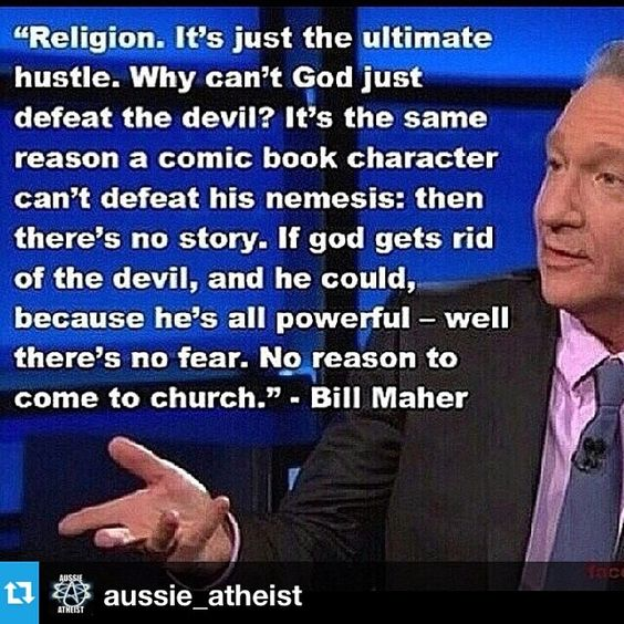 Maher, Don't you hate it when shit makes sense.