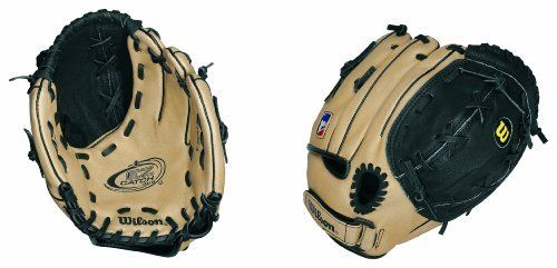 Wilson A425 95 Fielder's Throw Glove (Right Hand, 9.5-Inch) by Wilson. $30.26. The Wilson A425 EZ Catch glove literally makes it easier for younger girls and boy to catch the ball.  A great glove for any beginner starting in the game.. EZ Catch 3X Web - Oversized web allows players to catch a bigger ball without making the whole glove bigger = ore control. Pigskin Leather Shell - Lightweight pigskin leather provides natural feel and keeps the glove light. EZ S...