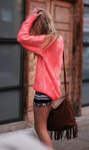 Neon, mini, fringe = Boho summer: Dream Closet, Summer Style, Color, Outfit Inspiration, Spring Summer Outfits