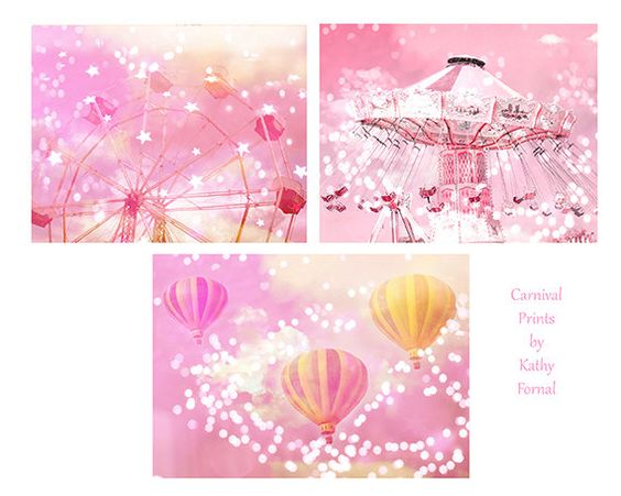 Hey, I found this really awesome Etsy listing at https://www.etsy.com/listing/204428290/pink-baby-girl-nursery-decor-pink-ferris