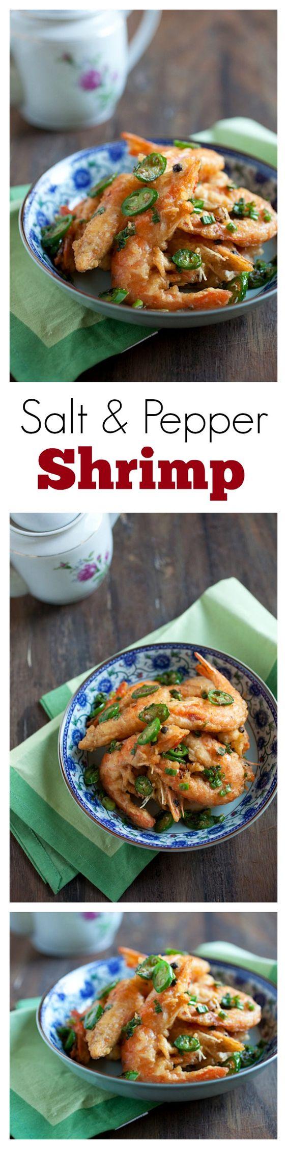Simple Salt And Pepper Shrimp Recipe — Dishmaps