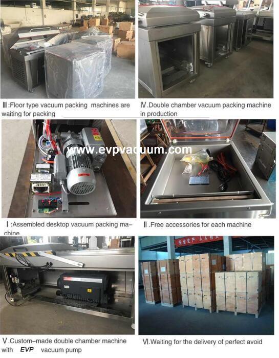 Rotary Vane Vacuum Pump Applied In Vacuum Package Industry