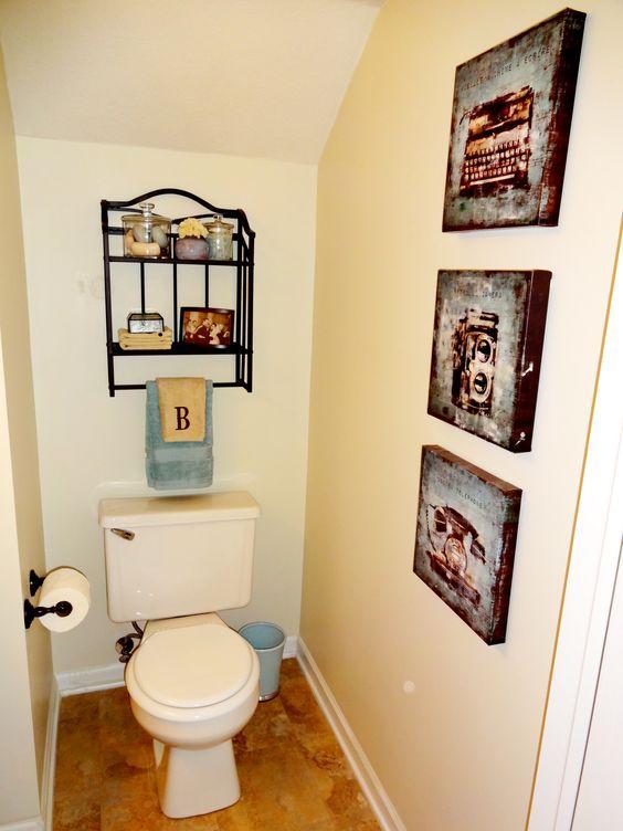 half bath decor bathroom pinterest bathrooms decor