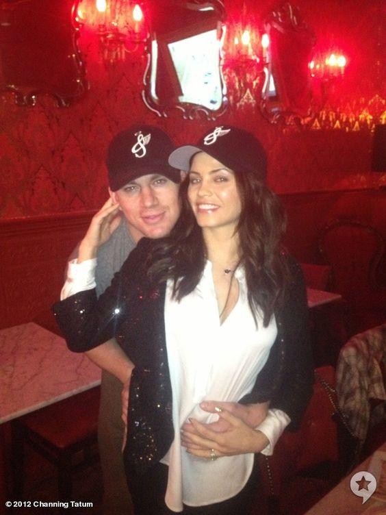 Channing Tatum and Jenna Dewan-Tatum