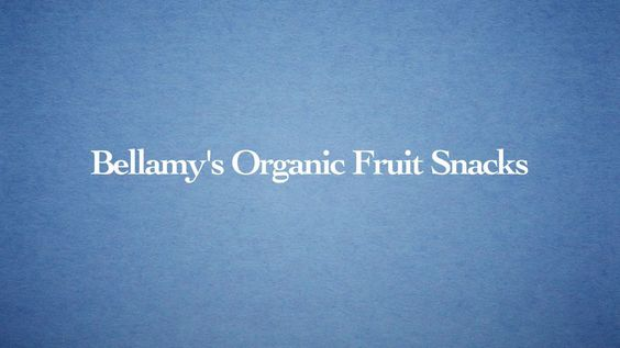 Bellamy's Organic Fruit Snacks
