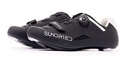 Sundried Mens Pro Road Bike Shoes Use With Cleats Mtb Spin Cycle