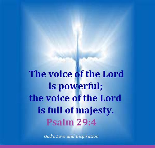 Image result for Psalm 29 4