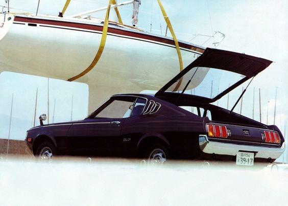 Toyota Celica ST Liftback JP-spec '1975–77