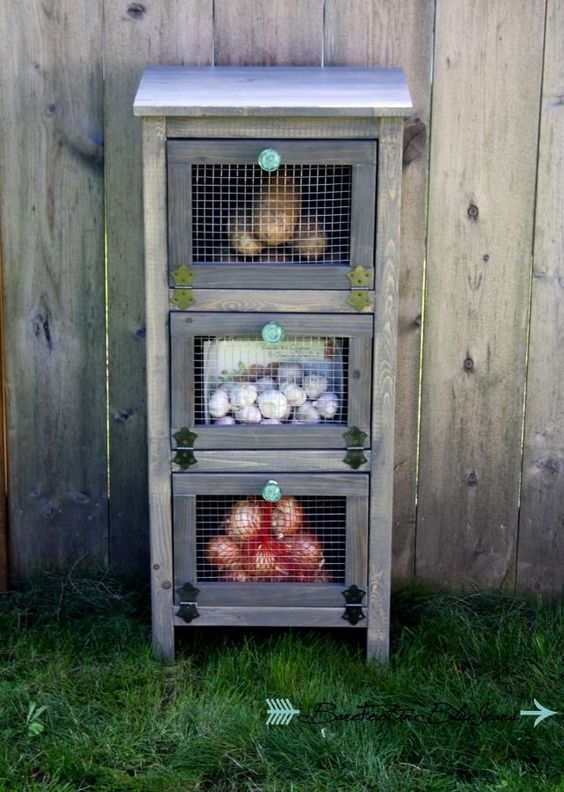 Vegetable Bin Cupboard