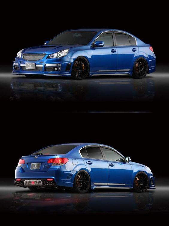 Subaru Legacy. I want one so badly!