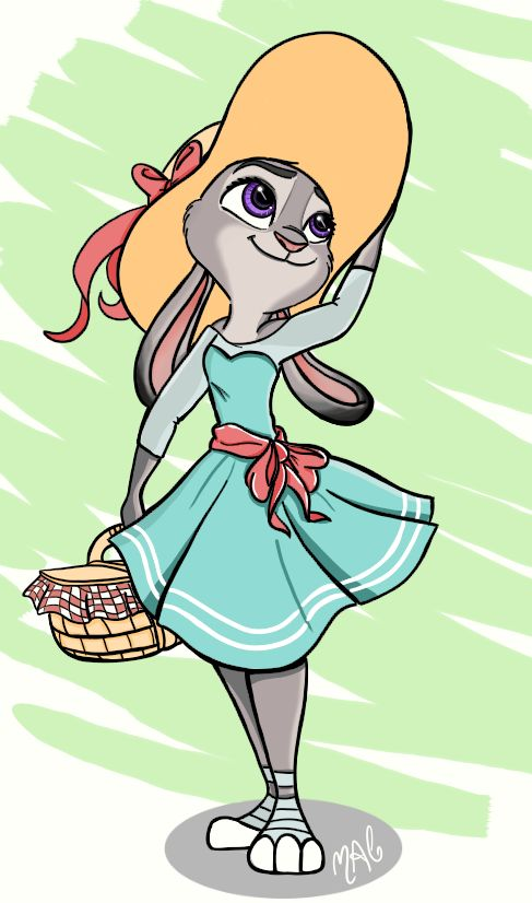 Judy Hopps - Spring by MAL Founded somewhere in the internet, but cannot find…