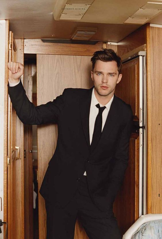 Nicholas Hoult by Venetia Scott - Fucking Young!: