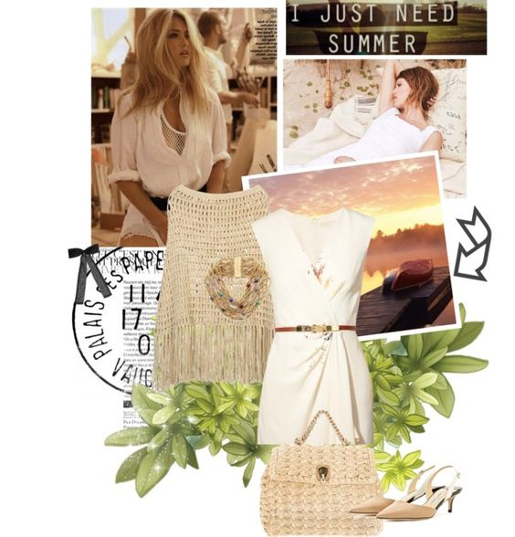"""I just need Summer!!"" by mypinelopi ❤ liked on Polyvore"