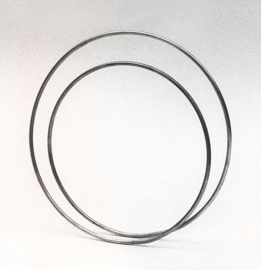 Nico Kok - Small circle and big circle, connected