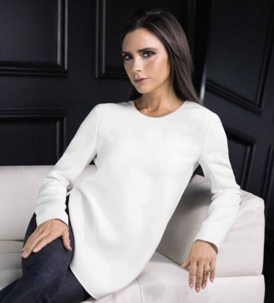 Victoria Beckham's latest makeup collaboration with Estee Lauder looks dreamy x Out in September 2016 x