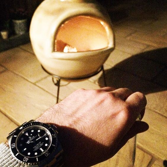 #spring #night  a bit #chilly though... #rolex #rolexsubmariner #submariner #116610ln #submarinerdate #outdoors #garden #beer #watch #watchporn #wristwatch #watchesofinstagram #hodinkee #wristwatches #wruw #iwc #panerai #divewatch #fire by iamvolkan.b #panerai