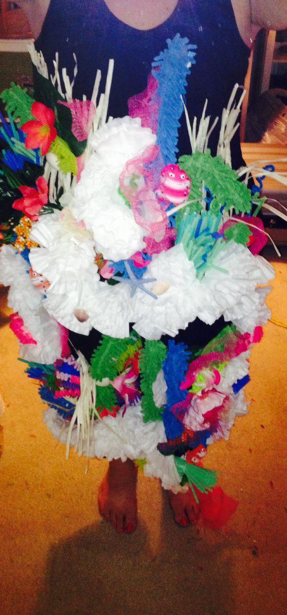 Coral Reef Costume Diy Crafts Pinterest Coral Reefs