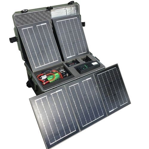 Ultimate Tactical Solar Power Generator Kit Always Empowered Solar Solar Energy Panels Best Solar Panels