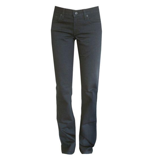 RALPH LAUREN BLACK LABEL $395 slim boot cut 380 dark blue denim jeans 29 NEW #RalphLauren #BootCut