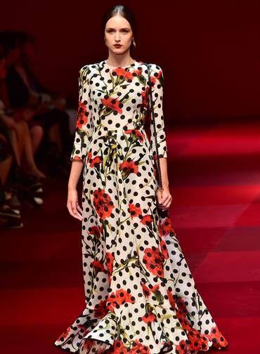 Dolce & Gabbana primavera/verão 2015 Foto: GIUSEPPE CACACE / AFP