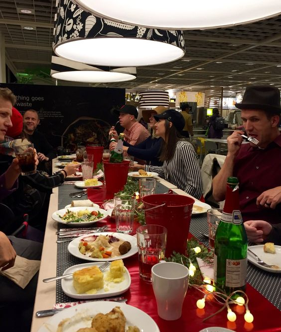 Ikea Holiday Pop Up Party — The Revelry Co.