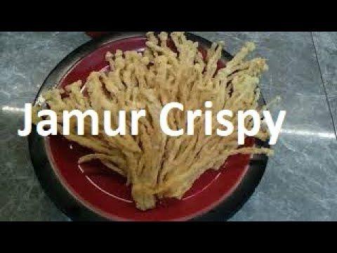 Cara Membuat Jamur Enoki Crispy Di 2020 Jamur Memasak Resep Jamur