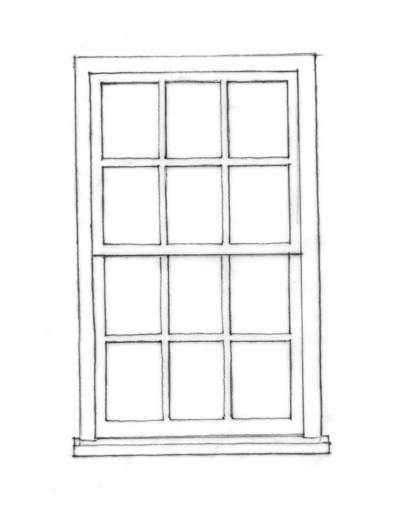 Drawings Of Single Hung Windows : Windows like this office time pinterest the o jays