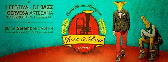 Festival de Jazz i Cervesa Artesana de Cornellà de Llobregat http://www.jazzandbeer.org/