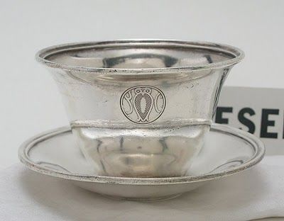Serving piece from the ultra exclusive Bohemian Club in San Francisco