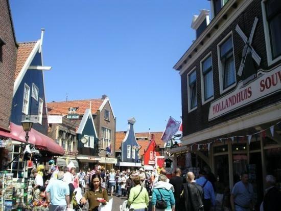 Shopping in Volendam  Netherlands