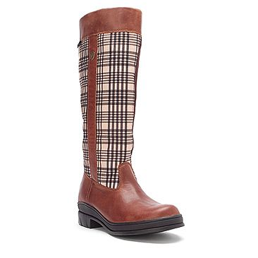 Ariat Plaid Boots - Boot Hto