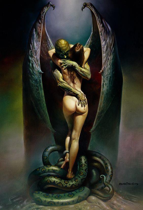 Vampire's Kiss by Boris Vallejo