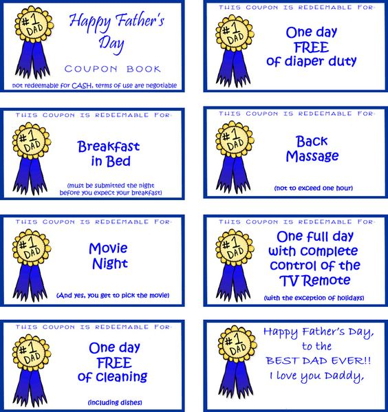 Father's day gifts, Father's day printable and Father's ...