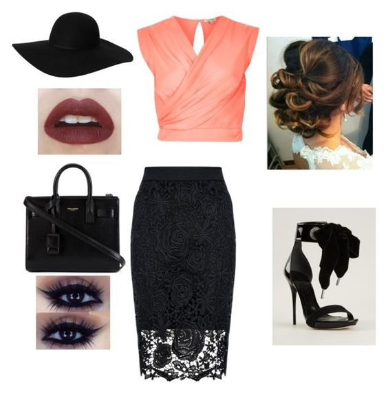 """At the office"" by whiterose0211 on Polyvore"