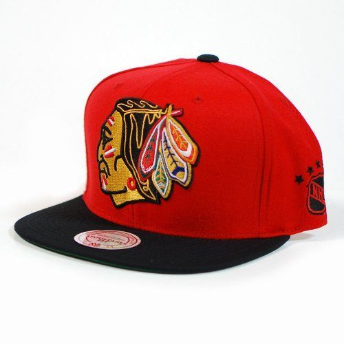 Chicago Blackhawks Hats Mitchell Ness Chicago Blackhawks Vintage Xl Logo 2t Snapback Hat Hats For Men Baseball Hats Hats