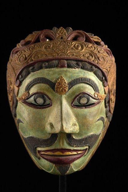 "Theater mask ""patihan"", Indonesia, Java"
