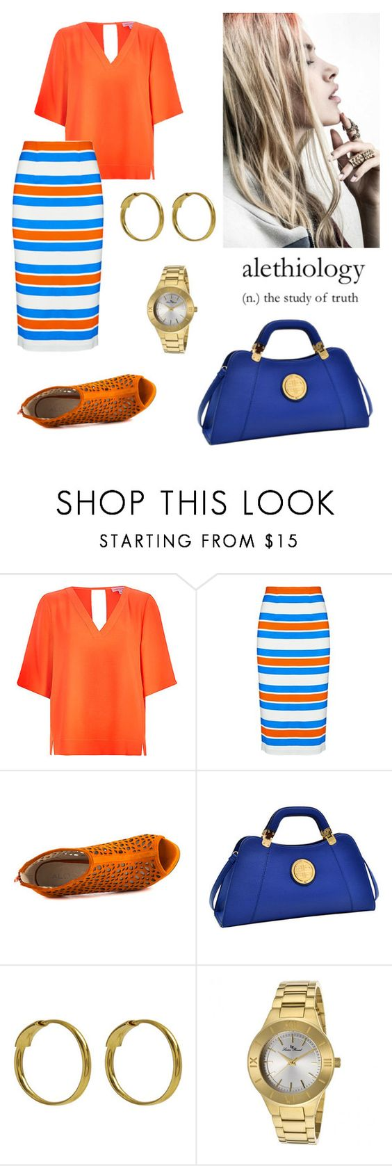 """""""Color. Calor."""" by schenonek ❤ liked on Polyvore featuring Tanya Taylor, ALDO, Dasein, Maria Black, Lucien Piccard, women's clothing, women's fashion, women, female and woman"""