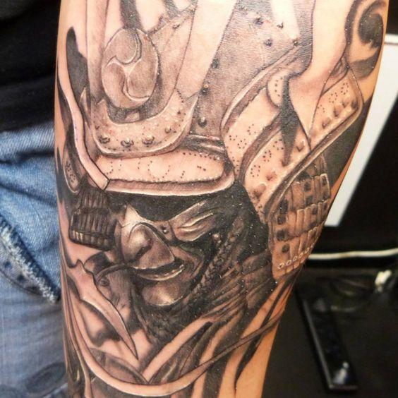 Amazing Japanese Warrior tattoo | Skin Deep | Pinterest