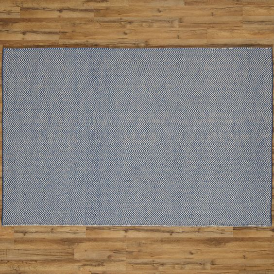 """Ava Blue Rug by Birch Lane $125 for 2'6""""x8' runner (for the guest bedroom hallway)"""