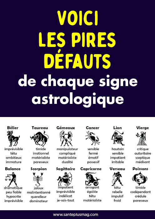Epingle Par Samuel Stephane Sur Education Signe Astrologique