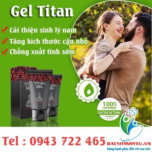 Sản phẩm titan gel có an toà n không với tác dụng Cải thiện cương cứng, là m cho hệ tình dục lâu hơn và mạnh mẽ hơn.Giúp quan hệ tích cực hơn thông qua tăng sức mạnh và sức sống cùng gel titan, tìm hiểu thêm với bacsitinhyeu.vn #geltitan #sanphamgeltitancoantoankhong