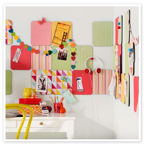 Pinterest the world s catalog of ideas for Modern bulletin board