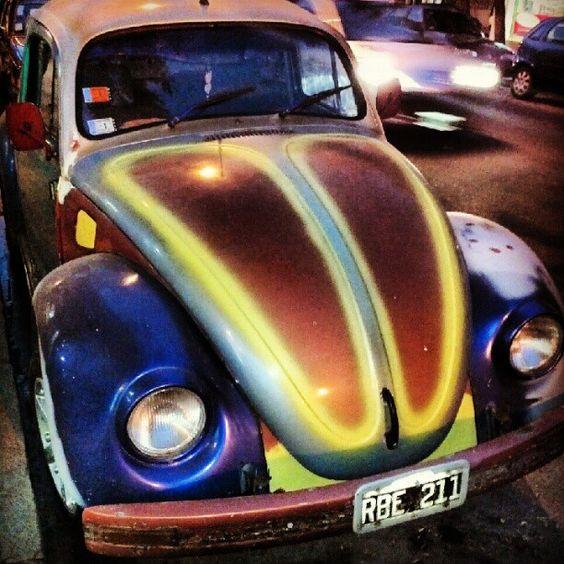 VW Beetle, Volkswagen Escarabajo.