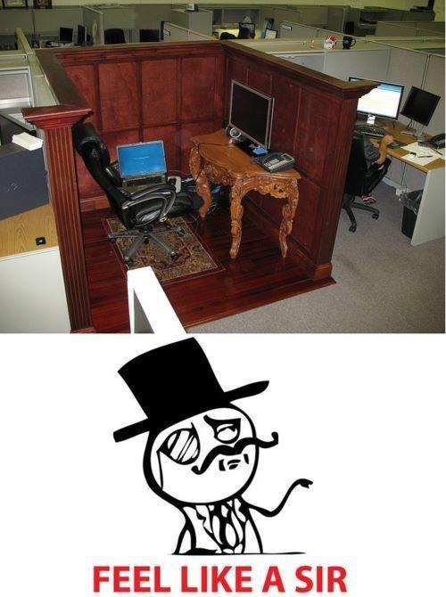 Le*me at the office  Yo en la oficina