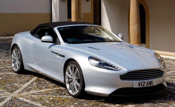 Aston Martin Virage Convertible Picture