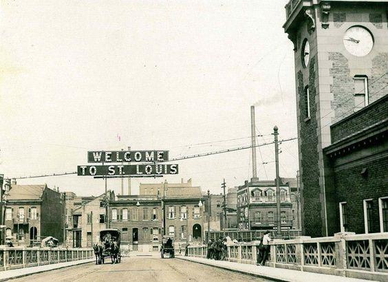 Municipal Bridge, Landmarks Association Photo.  Present day MacArthur Bridge.